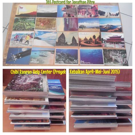 365 postcards (april, mei, juni 2015)