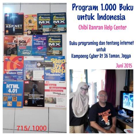 program 1000 buku_kampung cyber