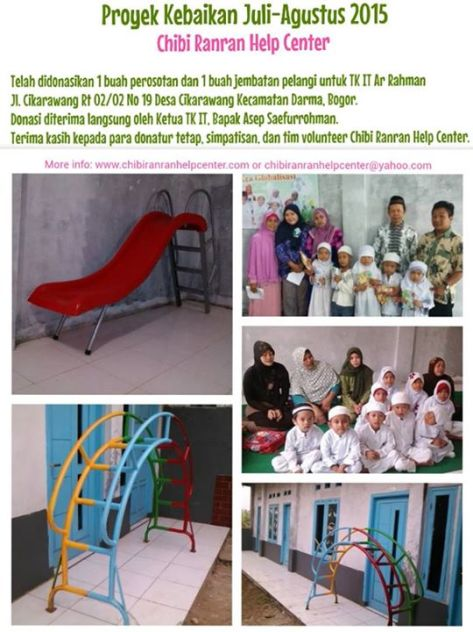 proyek kebaikan juli agustus 2015